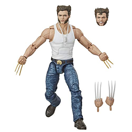 Hasbro Marvel Legends Series Wolverine 6-inch Collectible Action Figure Toy, Ages 14 and Up (Amazon Exclusive)