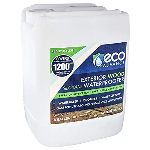 Eco Advance Wood Siloxane Waterproofer - 5 Gallon
