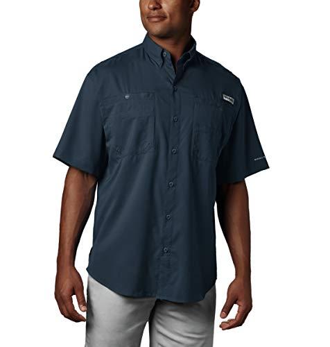 Columbia Men's Tamiami II Short Sleeve Shirt, Collegiate Navy, Medium