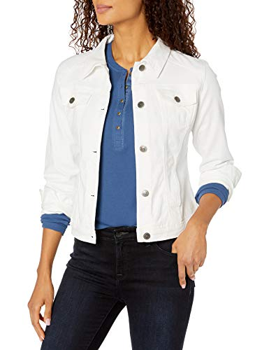 Riders by Lee Indigo Women's Stretch Denim Jacket, White, X-Large