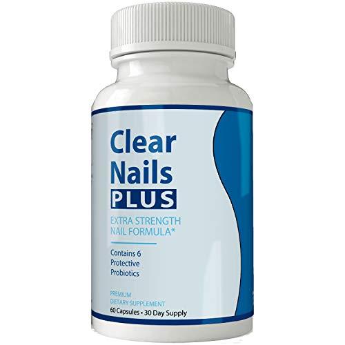 Clear Nails Plus - Antifungal Probiotic Pills - 60 Capsules - Supplement