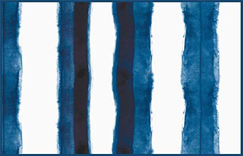 Paper Placemats Table Mats Disposable Table Linens Shibori Tie Dye Look Blue Placemats Pk 50 Table Placemats