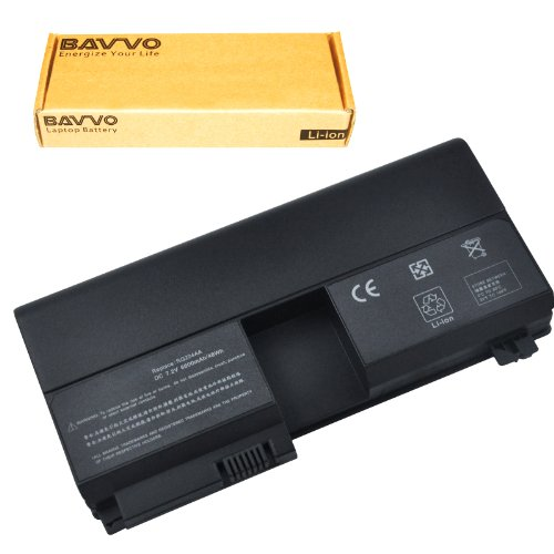 Bavvo 6-Cell Battery Compatible with TouchSmart tx2-1000 tx2-1100 tx2-1200 Series, PN: 441132-003 HSTNN-OB37 HSTNN-OB38 HSTNN-OB41 HSTNN-UB37 HSTNN-UB41 HSTNN-XB37 RQ203AA RQ204AA