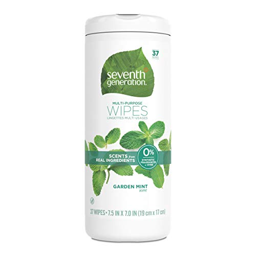 Seventh Generation Multi Purpose Wipes, Garden Mint Scent, 37 Count