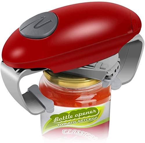 Electric Jar Opener, Restaurant Automatic Jar Opener for Seniors with Arthritis, Weak Hands, Bottle Opener for Arthritic Hands