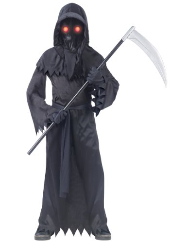 Fun World Grim Reaper Fade in/Out Unknown Phantom Costume, Child Small