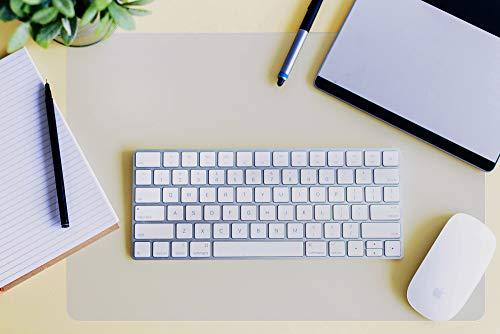 Desktex Polycarbonate Anti-Slip Desk Protection Mat 29' x 59'