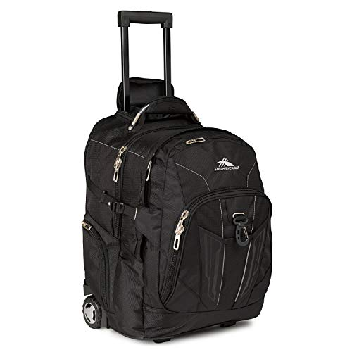 High Sierra XBT-Business Rolling Backpack, Black, One Size