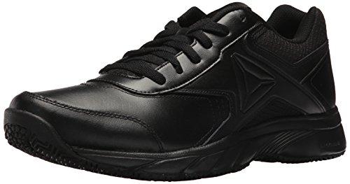 Reebok Men's Work N Cushion 3.0 Walking Shoe, Black, 12 M US