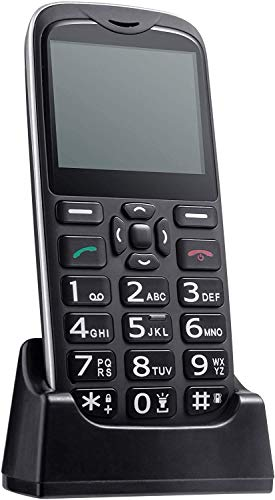 ISHEEP [D210] 4G/LTE Big Button Senior Unlocked Cell Phone, SOS Button, Easy to Use