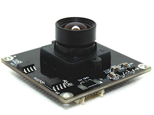 Spinel 720P Global Shutter Monochrome USB Camera Module OV9281 Sensor with 95 Degree Non-Distortion Lens, Support 1280x720@120fps, UVC Compliant, Support Most OS, Focus Adjustable, P/N: UC10MPC_ND