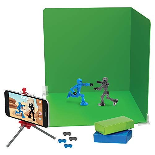 Zing Klikbot Zanimation Studio - Stop Motion Action Figure Set