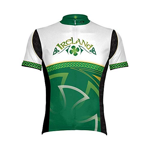 Primal Wear Ireland Cycling Jersey Large Men's Short Sleeve