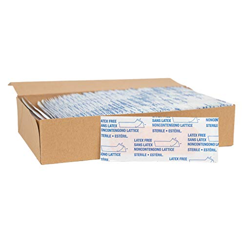 American White Cross 28855 Adhesive Bandages, Sheer Strips, 1' x 3', Case of 1500