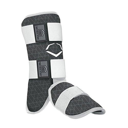 EvoShield EvoCharge Batter's Leg Guard - Adult, Black