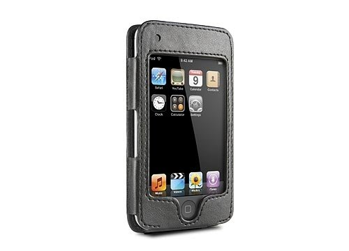 DDLO HipCase with Leather Sleeve and Belt Clip for iPod Touch (Black), Model # DLZ81002, by DLO (Digital Lifestyle Outfitters)