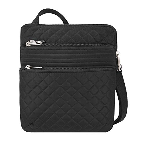 Travelon: Anti-Theft Boho Slim Bag - Black