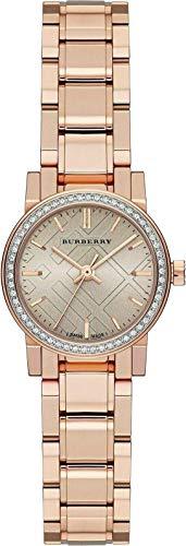 Swiss Rare Diamonds Rose Gold Dial 26mm Women Wrist Watch The City BU9225