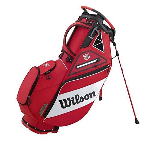 Wilson Staff Carry Golf Bag, Tour Red/White, OSFA