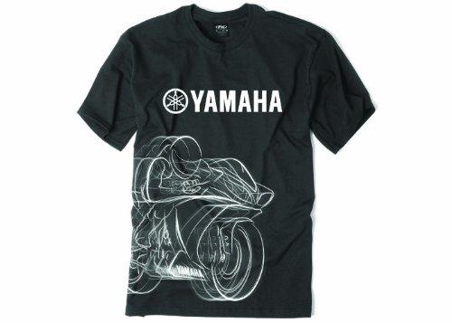 Factory Effex 16-88280 'YAMAHA' R1 T-Shirt (Black, Medium)
