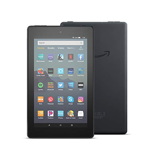 Fire 7 Tablet (7' display, 32 GB) - Black + Kindle Unlimited (with auto-renewal)