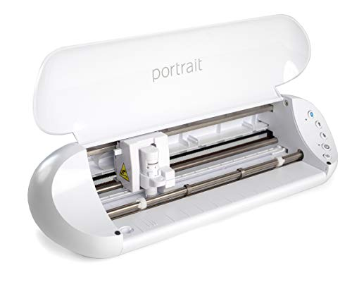 """Silhouette Portrait 3 with Bluetooth Wireless Cutting, 8x12"""" Cutting mat, AutoBlade 2, 50 Designs, Silhouette Studio Software and The Silhouette Go App"""