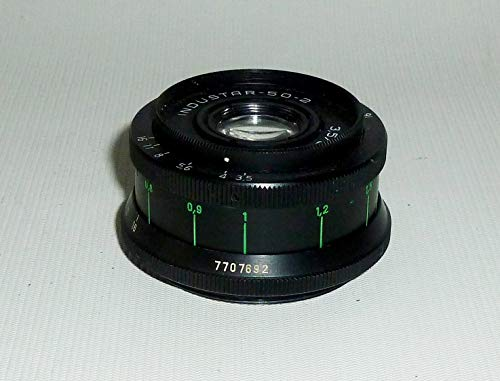 Industar-50-2 M42 3,5/50 USSR Soviet Union Russian Pancake Camera Lens