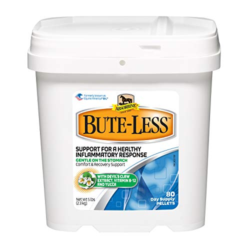 Bute-Less Comfort & Recovery Supplement Pellets, Healthy Inflammatory Response, 5 lb / 80 Day Supply