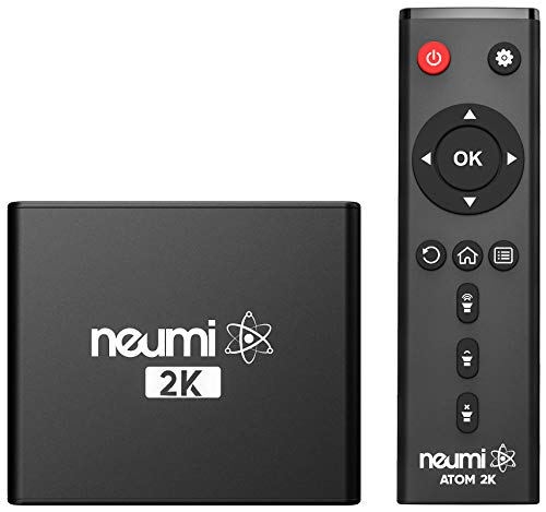 NEUMI Atom 2K HD Digital Media Player for USB Drives and SD Cards - with HDMI and Analog AV, Automatic Playback and Looping Capability