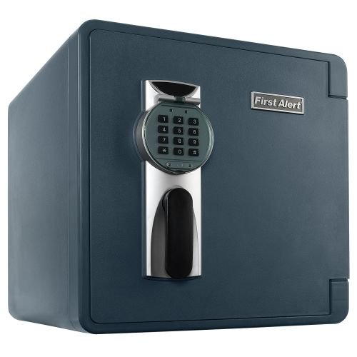 First Alert 2092DF 1.3 Cubic Feet Grey Fire & Water Safe With Digital Lock