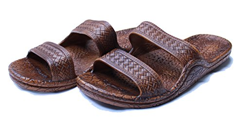 Kali Footwear Women's Jesus Hawaii Open Toe Double Strap Hawaiian Sandals Simple Chestnut 10