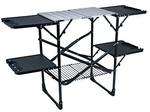 GCI Outdoor Slim-Fold Camp Kitchen Portable Folding Cook Station
