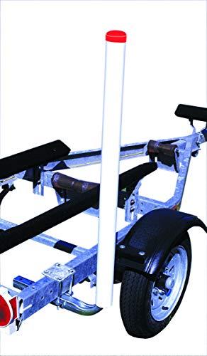 Tie Down 86103 Heavy-Duty PVC Post Guide-On's - 48', 13 Degree Slant