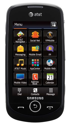 Samsung Solstice II A817 Unlocked GSM Phone with Touchscreen + TouchWiz 2.0 UI, GPS, 2MP Camera, Video, Bluetooth, SNS Integration, MP3/MP4 Player and microSD Slot - Black