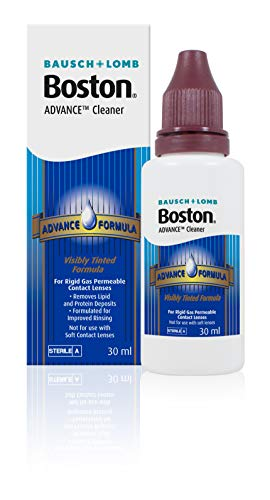 Boston Bausch & Lomb Advance Hard & Gas Permeable Contact Lense Cleaner 30Ml