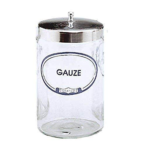 Graham-Field 3454A G Labeled Sundry Gauze Jar with Cover