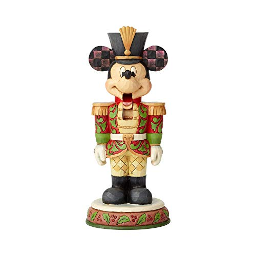 Enesco Disney Traditions by Jim Shore Mickey Mouse Nutcracker Figurine, 7', Multicolor