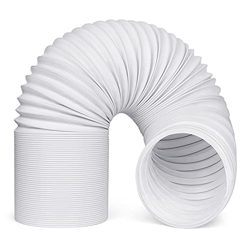 Portable Air Conditioner Hose, MOAOO Exhaust Hose with 5.9' Diameter, Counter Clockwise Thread & Length up to 59', Practical for Portable AC LG, Haier, Whynter, etc