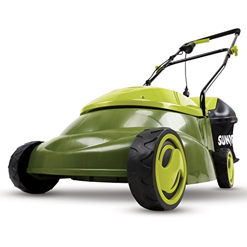 Sun Joe MJ401E-PRO 14 inch 13 Amp Electric Lawn Mower w/Side Discharge Chute, 14', Green