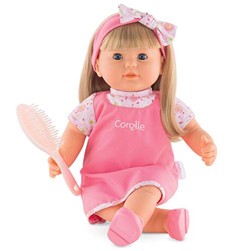 Corolle Mon Grand Poupon Adèle Toy Baby Doll, 14 inches