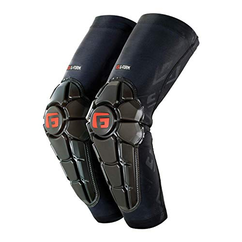 G-Form Pro X2 Elbow Pad(1 Pair), Black Logo, Adult Medium