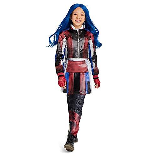Disney Evie Costume for Kids - Descendants 3 Size 5/6 Blue
