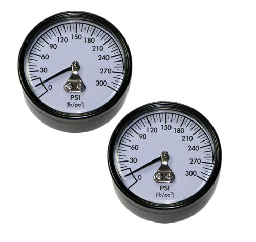 DeWalt D55146 Compressor Replacement Pressure Gauge (2 Pack) # A18885-2PK