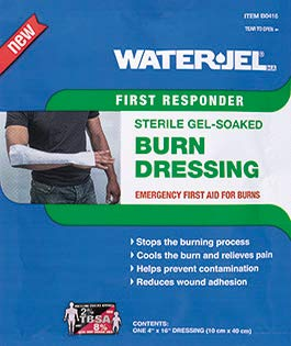 0416-28 Dressing Water-Jel Wound Sterile Burn 4x16' Non-Woven Ea by Waterjel Technologies