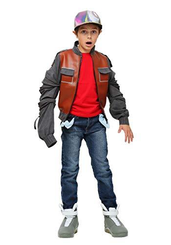 Kids Back to the Future Marty McFly Costume Jacket Medium