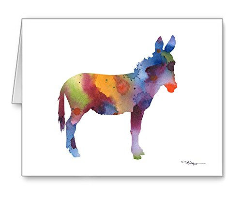 Donkey - Set of 10 Note Cards with Envelopes