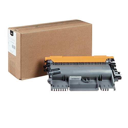 AmazonBasics Remanufactured High-Yield Toner Cartridge, Replacement for Brother TN450 - Black