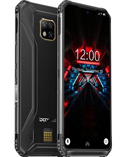 DOOGEE S95 PRO (2020) Rugged Phones Unlocked, 8GB RAM+256GB ROM, 48MP AI Triple Rear Camera Helio P90 Octa-Core Wireless Charging, IP68 Waterproof Cell Phones, 6.3 inch 5150mAh Global 4G Phone, NFC