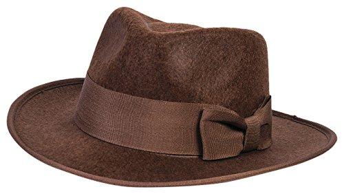 Forum Novelties Child Adventure Fedora Hat, Brown