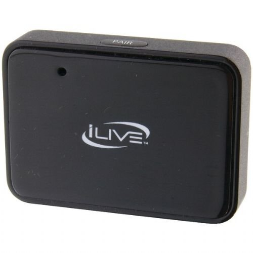 iLive iAB53W Wireless Bluetooth Receiver and Adapter - Black